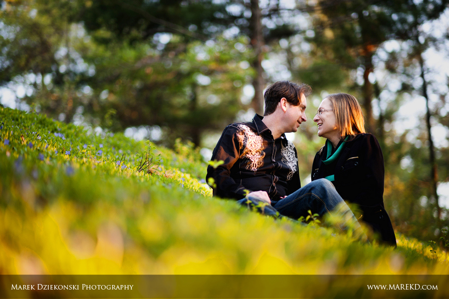 Liz Lewis engagement session sunrise Oakhurst golf club Clarkston Michigan4 Liz and Lewis Engagement Session at Sunrise in Oakhurst Golf and Country Club | Clarkston, MI