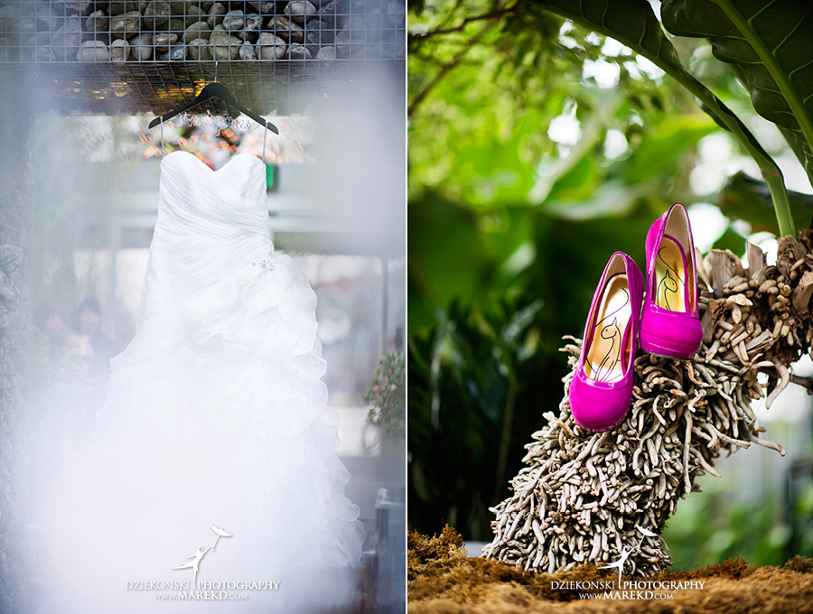 Amanda Leigh wedding planterra conservatory west bloomfield michigan photographer exotic greenhouse ceremony15 Amanda and Leighs Winter Wedding at Planterra Conservatory in West Bloomfield, Michigan