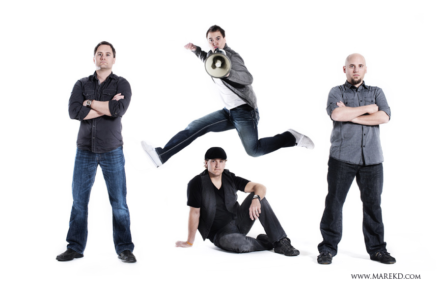 3 - Thicker Than Water - Band Photoshoot