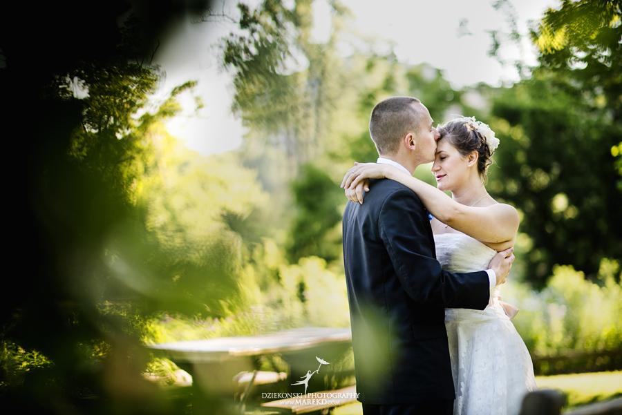 Allie Chris First Look ann arbor nichols arboretum wedding michigan photographer01 - Allie and Chris are Married! First Look at Nichols Arboretum, MI