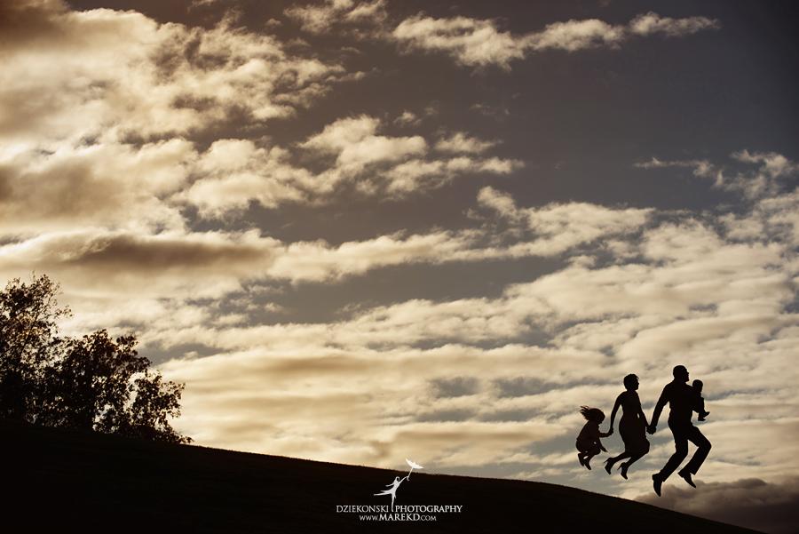 bennett family portraits picutres photographer clarkston michigan orion oaks park sunset fall24 - Bennett Family Fall Pictures at Sunset in Clarkston, MI