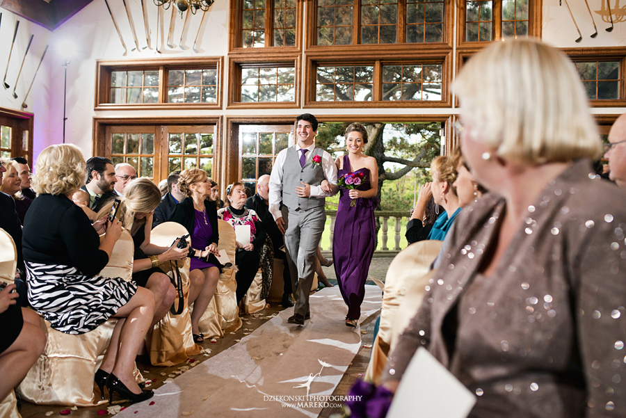 indianwood gold and country club lake orion wedding photography couple fall sunset ceremony michigan top best13 - Kristin and Jason