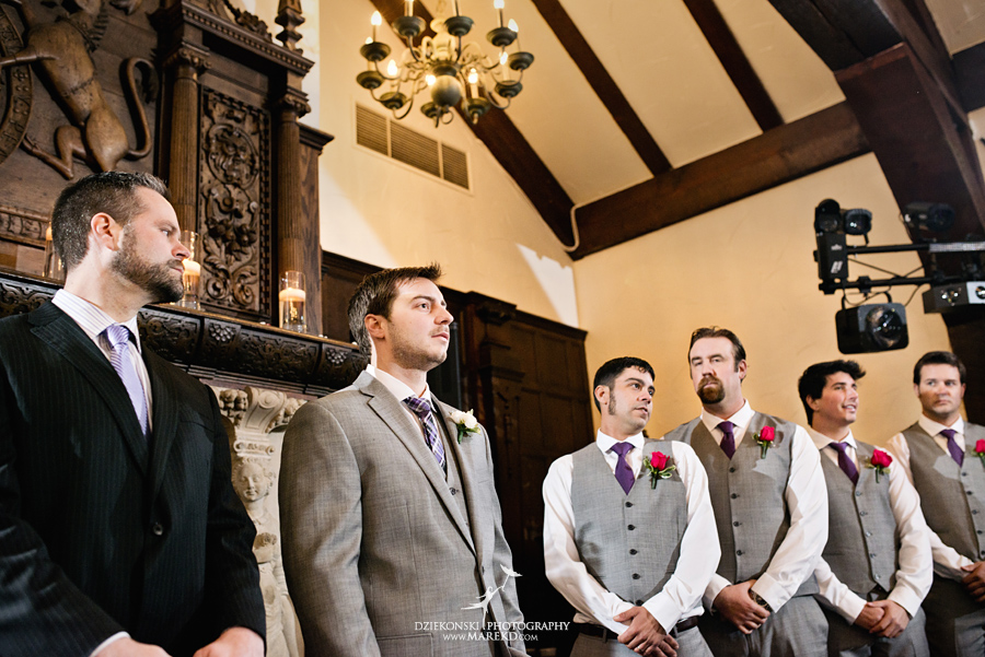 indianwood gold and country club lake orion wedding photography couple fall sunset ceremony michigan top best15 - Kristin and Jason