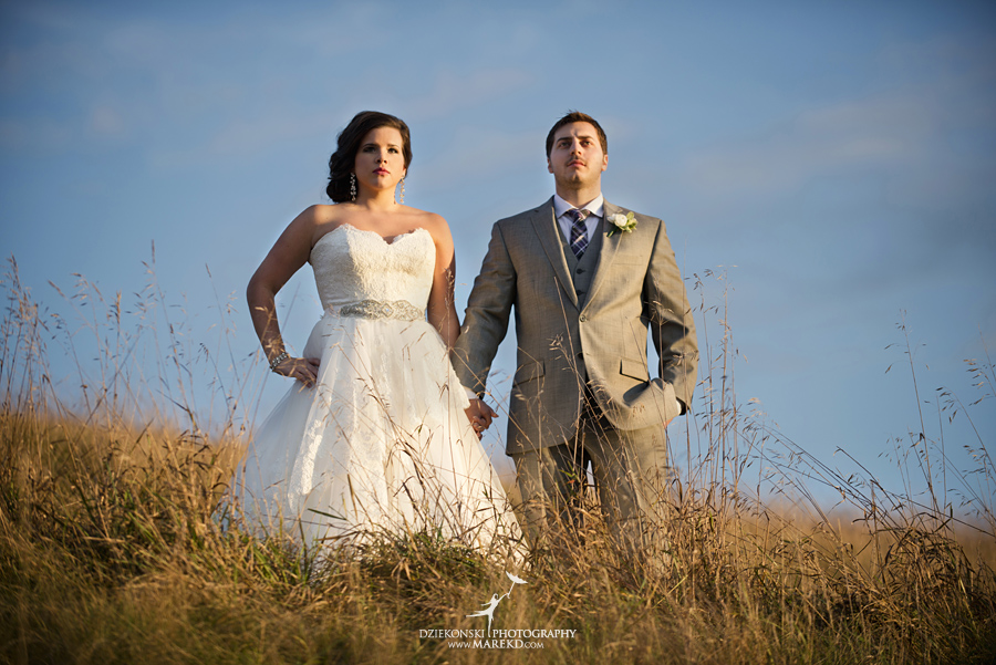 indianwood gold and country club lake orion wedding photography couple fall sunset ceremony michigan top best23 - Kristin and Jason