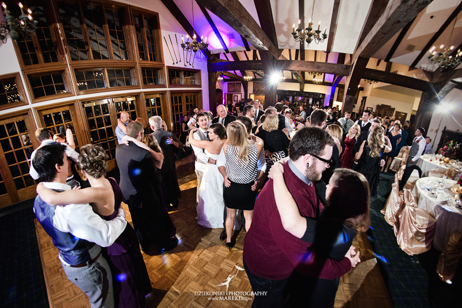indianwood gold and country club lake orion wedding photography couple fall sunset ceremony michigan top best36 - Kristin and Jason