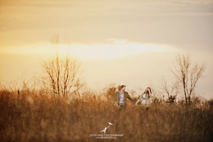 Jacqulyn Ryan Engagement Pictures Nature Clarkston Lake Orion Oaks Michigan Fall sunrise session photographer02 - Jacqulyn and Ryan