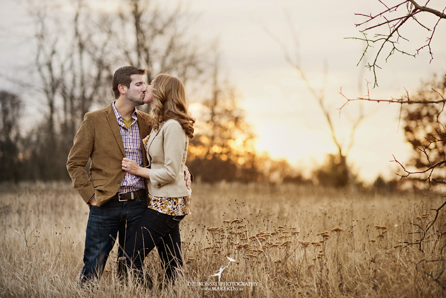 Jacqulyn Ryan Engagement Pictures Nature Clarkston Lake Orion Oaks Michigan Fall sunrise session photographer07 - Jacqulyn and Ryan