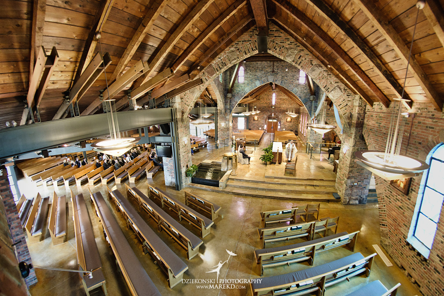 Lauren Matt Catholic St Joseph Lake Orion Oakhurst Wedding Reception