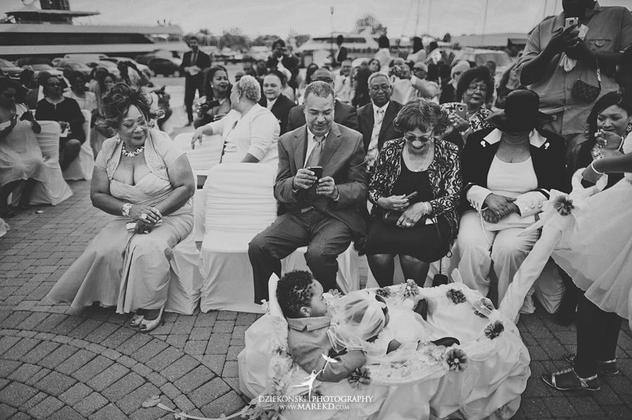 Bentrelle Dameon infinity ovation yacht wedding marina water reception ceremony detroit metro river boat12 - Bentrelle and Dameon
