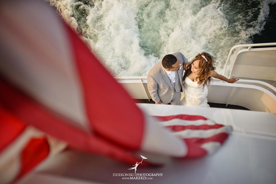 Bentrelle Dameon infinity ovation yacht wedding marina water reception ceremony detroit metro river boat32 - Bentrelle and Dameon