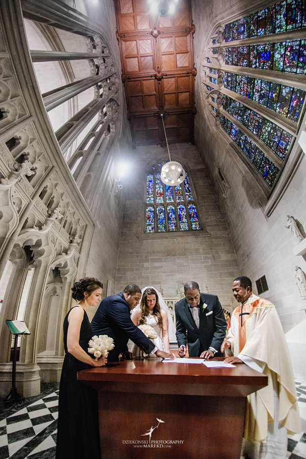 Okezie-LeeAnn-wedding-colony-club-detroit-downtown-mchigan-winter-snow-storm-blessed-sacrament-cathedral-catholic-church28