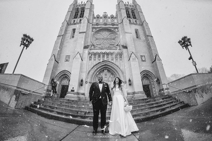 Okezie-LeeAnn-wedding-colony-club-detroit-downtown-mchigan-winter-snow-storm-blessed-sacrament-cathedral-catholic-church29