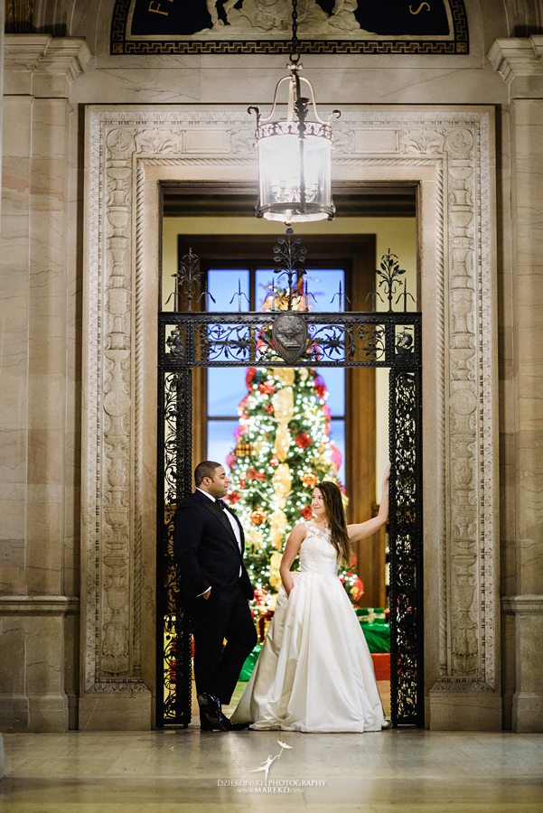 Okezie-LeeAnn-wedding-colony-club-detroit-downtown-mchigan-winter-snow-storm-blessed-sacrament-cathedral-catholic-church34
