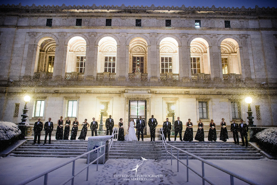 Okezie-LeeAnn-wedding-colony-club-detroit-downtown-mchigan-winter-snow-storm-blessed-sacrament-cathedral-catholic-church38