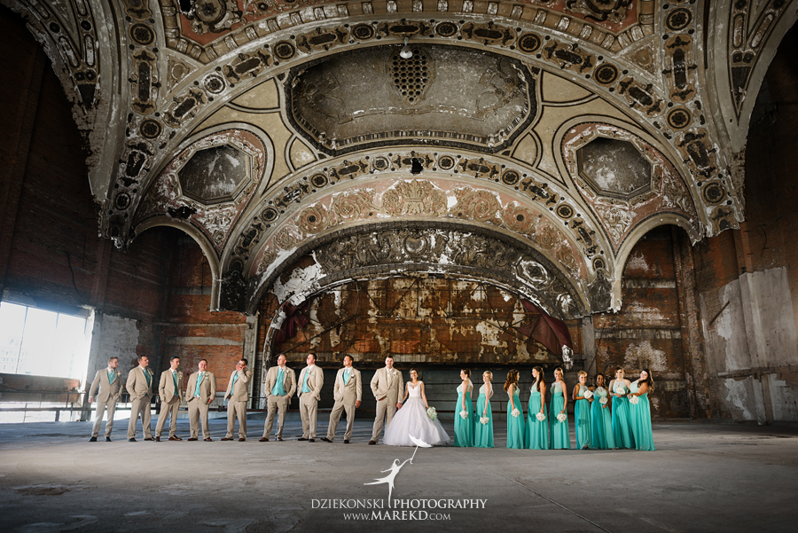 Aneta And Christophers Wedding In Detroit Michigan Dziekonski
