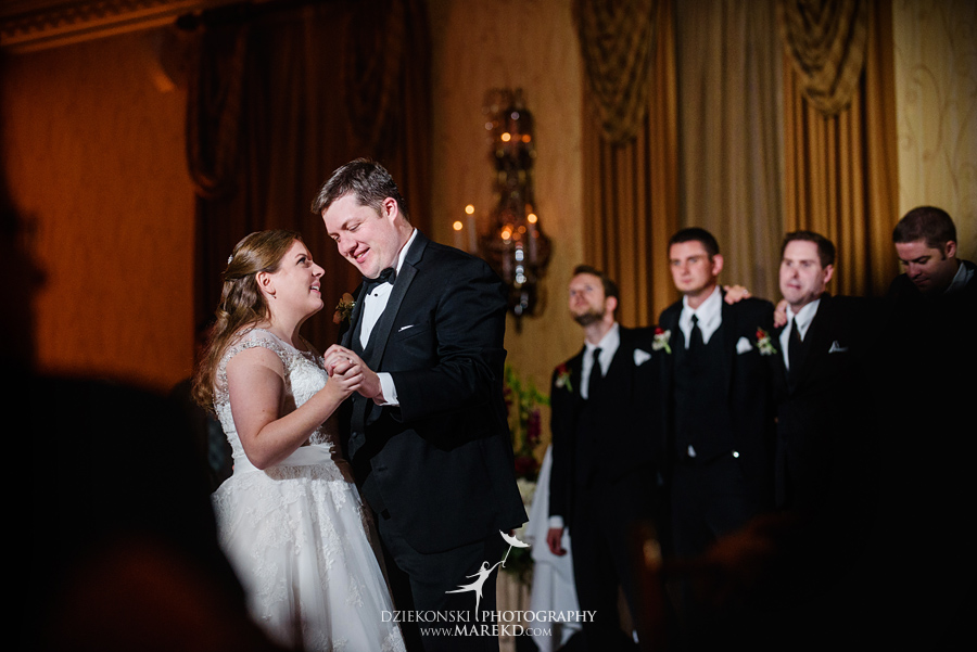 Megan Mike ceremony reception wedding pictures photographer dearborn inn michigan fall61 - Megan and Michael