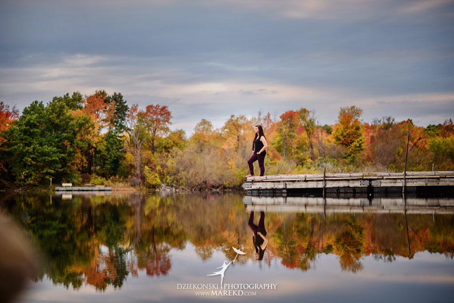 oakland county park independence oaks pictures senior photos fall leaves colors01 - Lucy Rosa