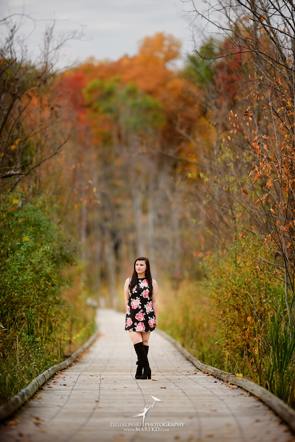 oakland county park independence oaks pictures senior photos fall leaves colors05 - Lucy Rosa