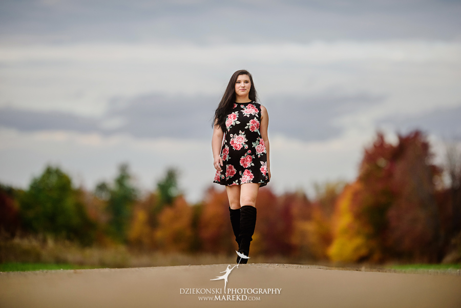 oakland county park independence oaks pictures senior photos fall leaves colors06 - Lucy Rosa