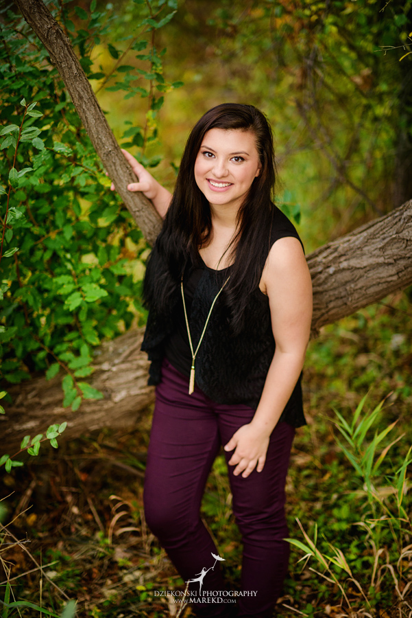 oakland county park independence oaks pictures senior photos fall leaves colors11 - Lucy Rosa