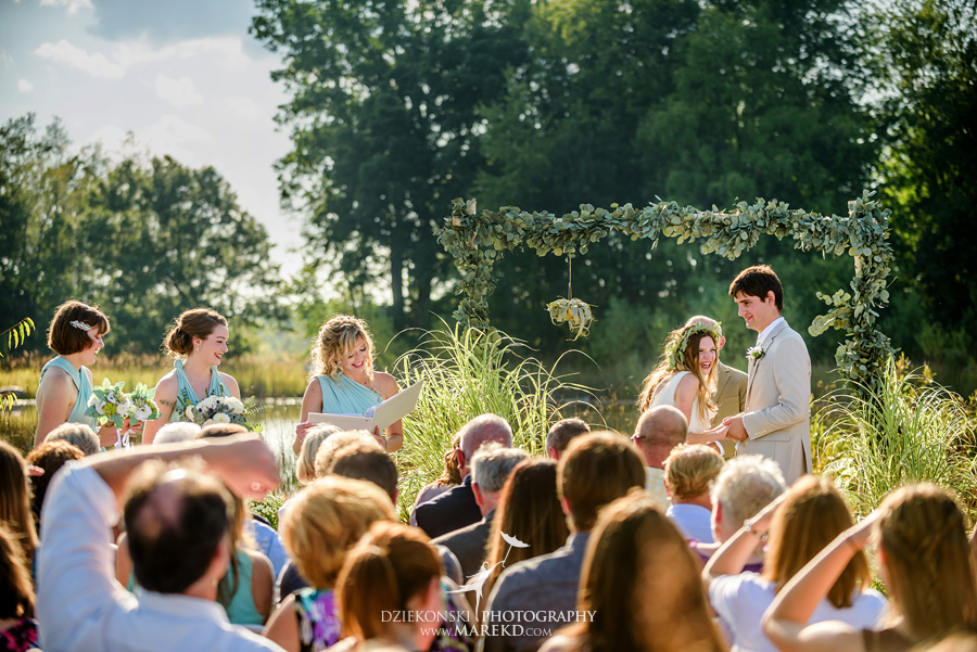 cristina cody wedding ceremony reception photographer michigan white lake outdoor nature water lake indian springs metropark49 - Cristina and Cody