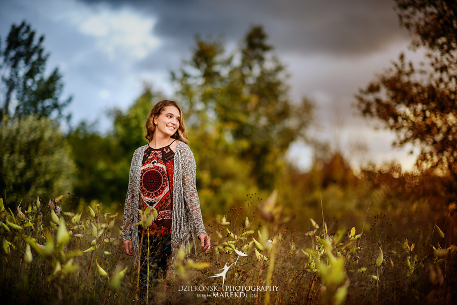 elise senior pictures clarkston michigan nature woods sunset summer photographer ideas outfit01 - Elise