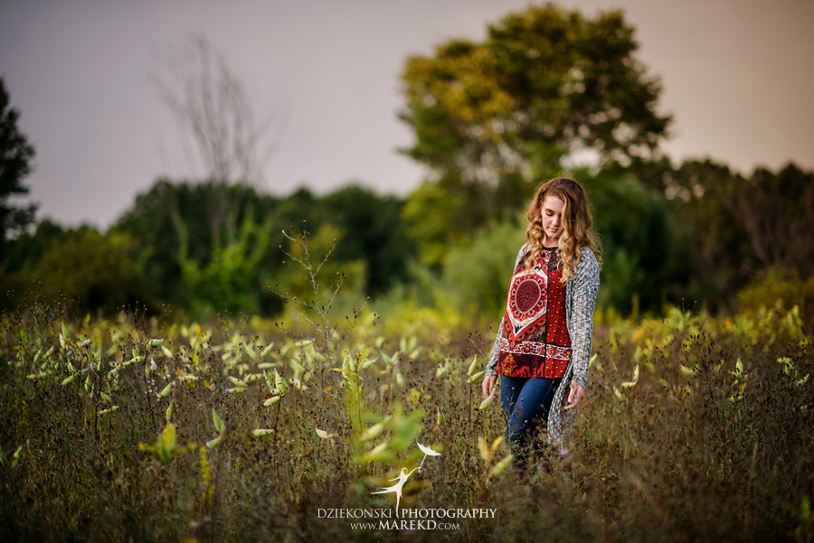 elise senior pictures clarkston michigan nature woods sunset summer photographer ideas outfit02 - Elise