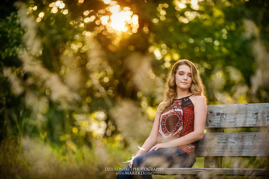 elise senior pictures clarkston michigan nature woods sunset summer photographer ideas outfit08 - Elise