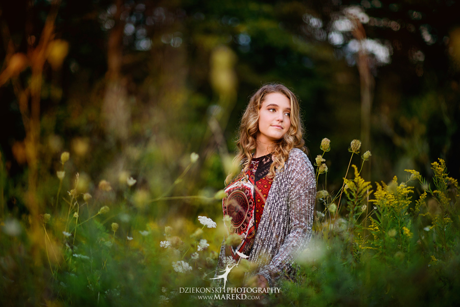 elise senior pictures clarkston michigan nature woods sunset summer photographer ideas outfit12 - Elise