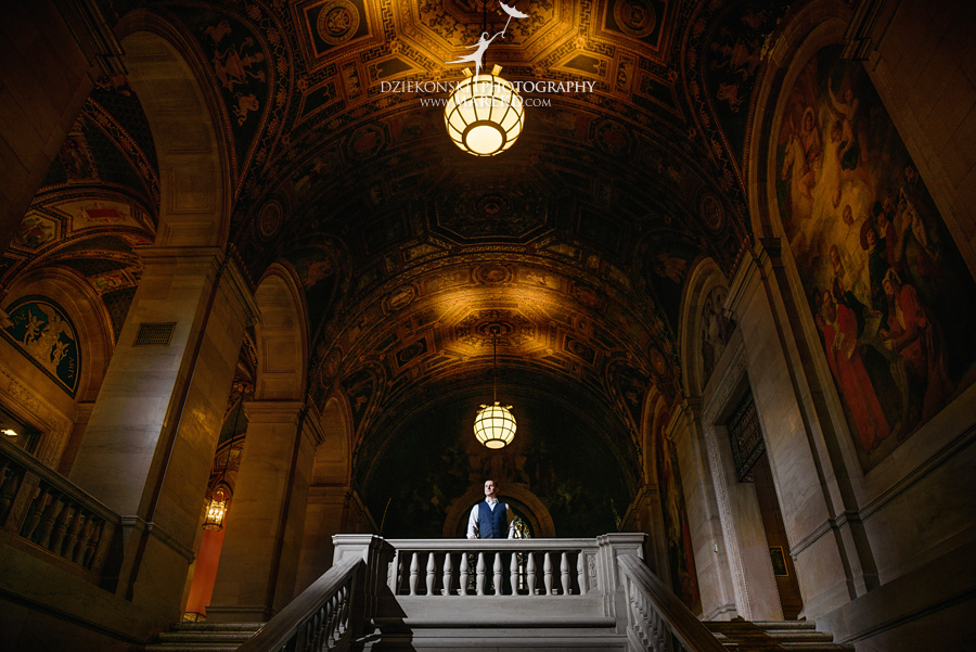 detroit public library michigan engagement session02 - Madeline and Brendan