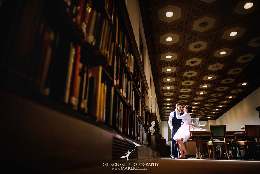 detroit public library michigan engagement session17 - Madeline and Brendan