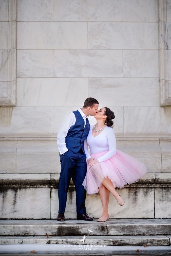 detroit public library michigan engagement session21 - Madeline and Brendan